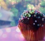 Coloured muffin