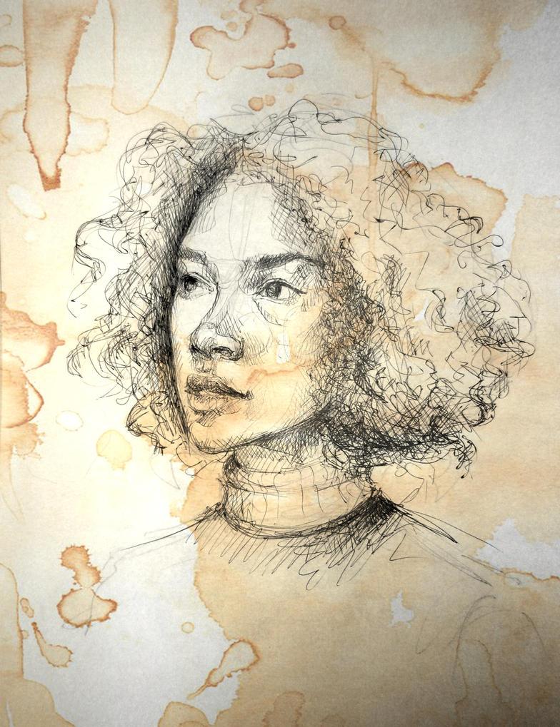 Daily sketch by Iulia-Oprinesc