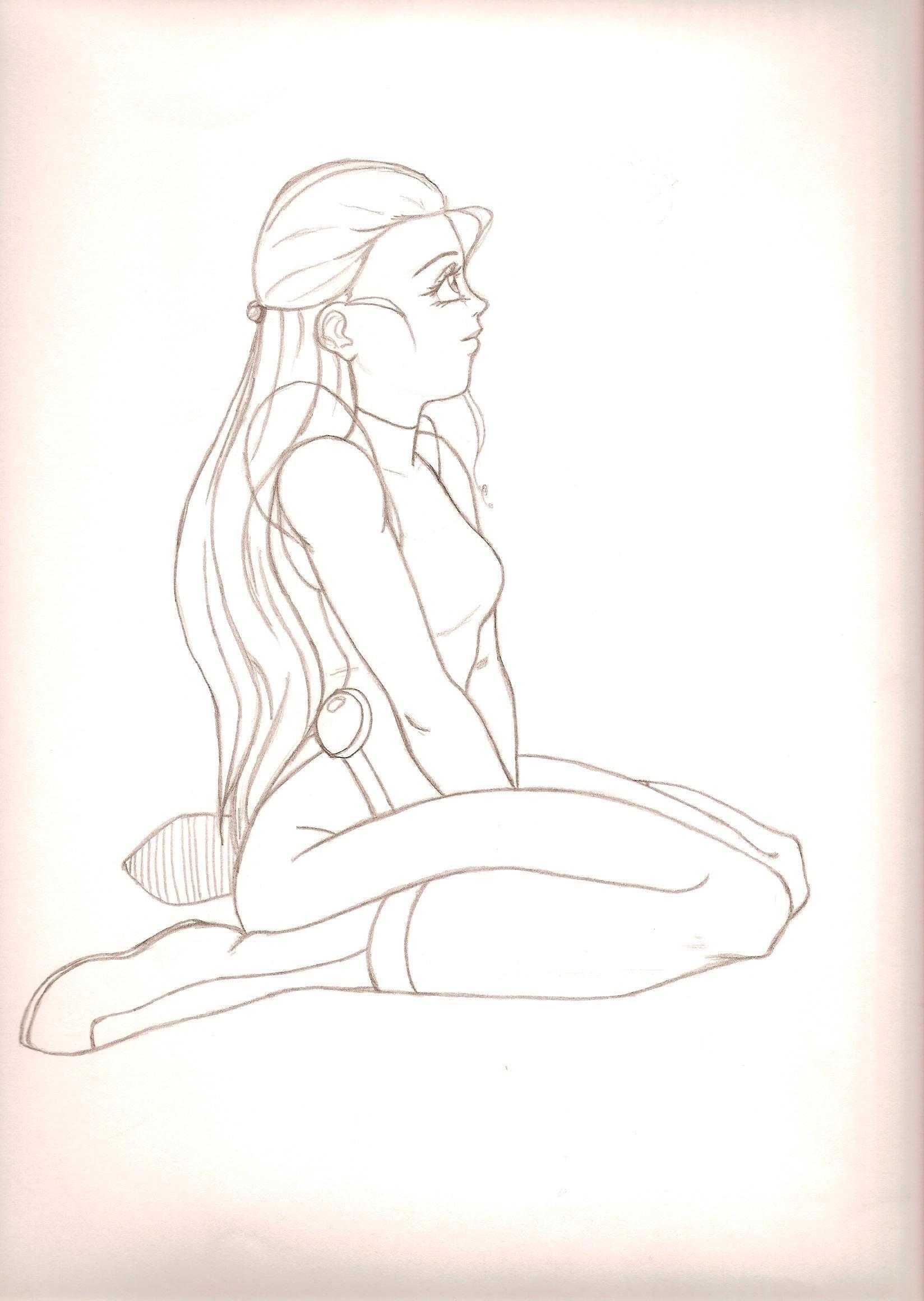 Girl by kingsenol
