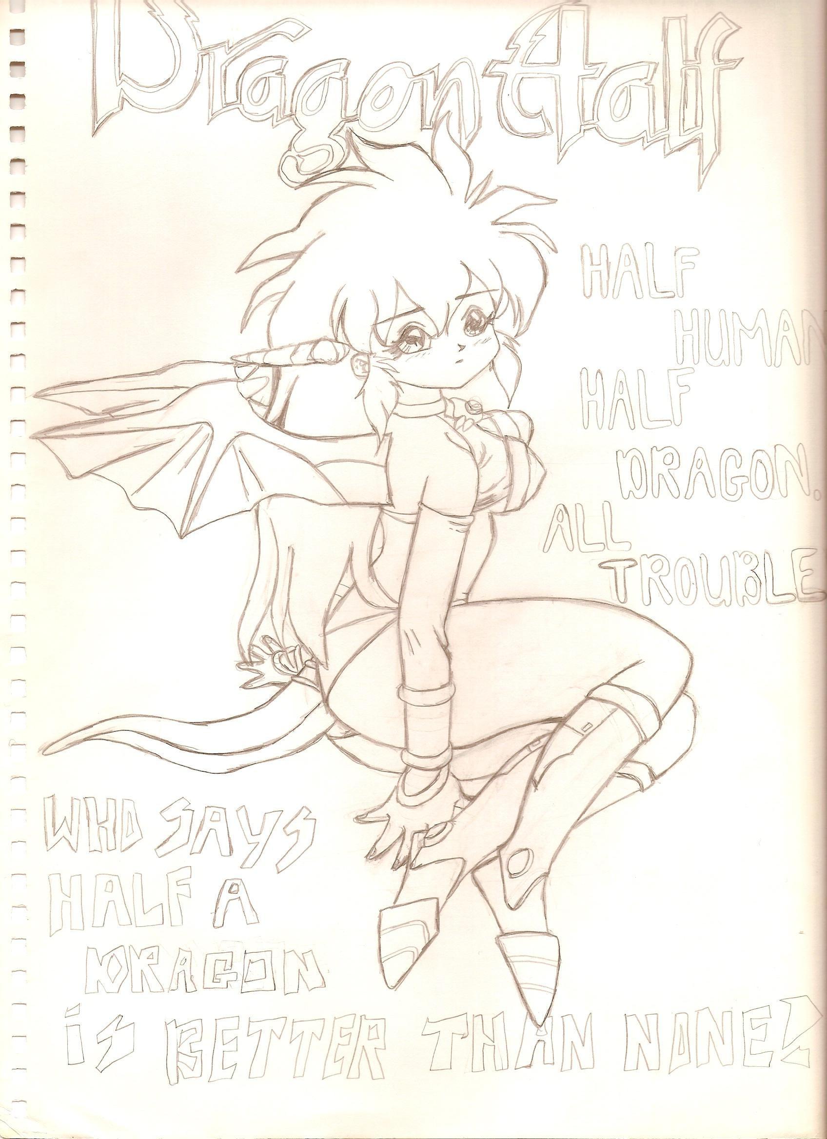 DragonHalf by kingsenol
