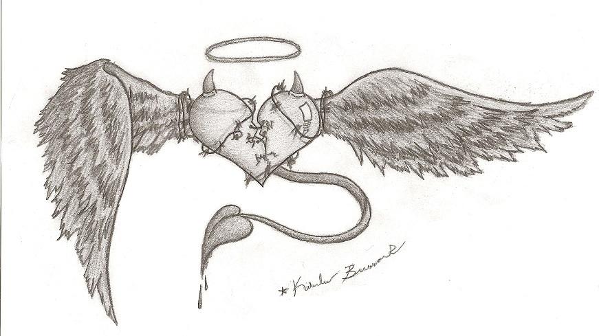 Heart Broken by Latias1677 on DeviantArt Pencil Drawings Of Broken Hearts