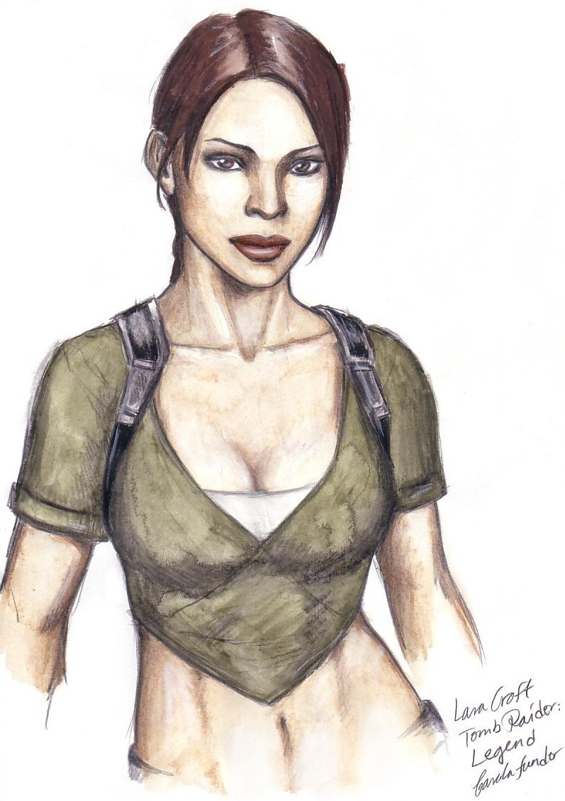 Lara Croft legend by CarolaFunder