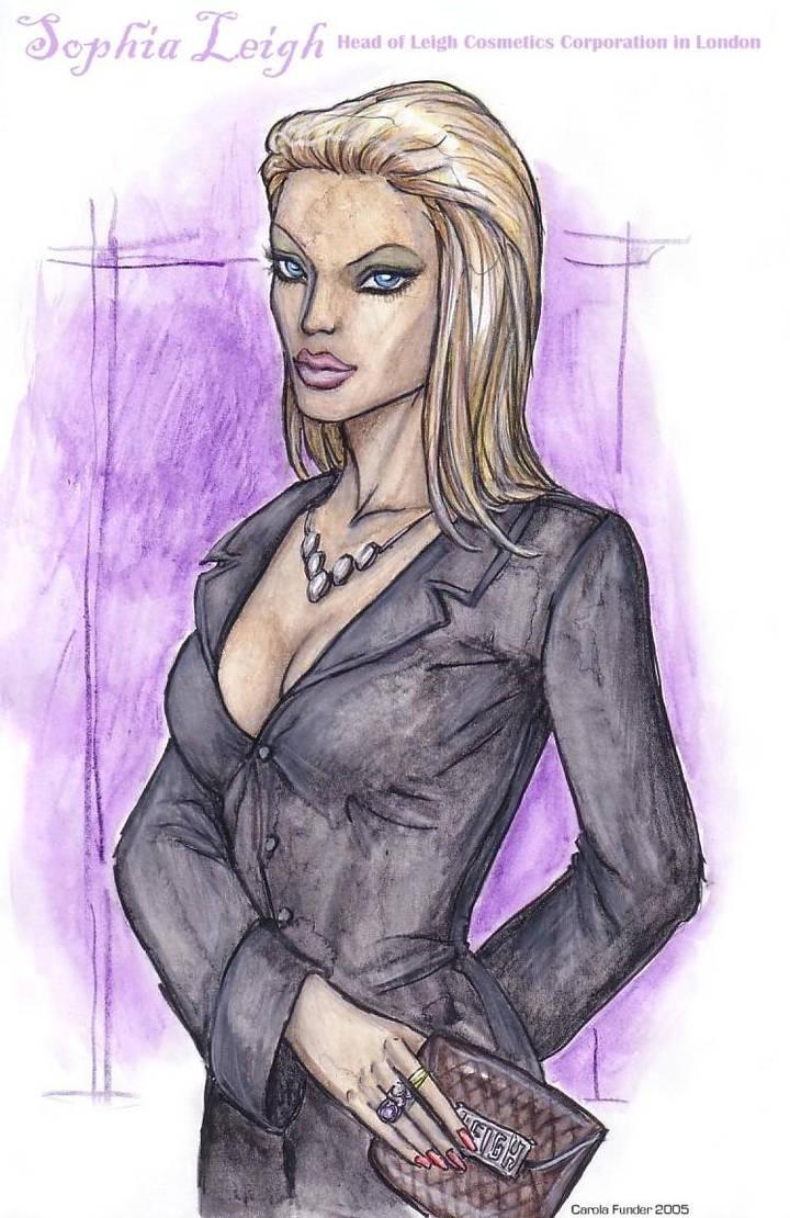 Sophia Leigh by CarolaFunder