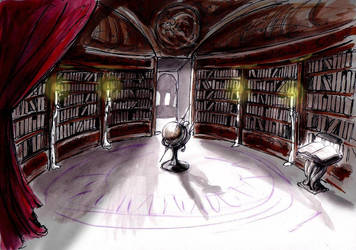 Old Library by CarolaFunder