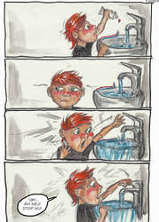Victor and the Water page3 by CarolaFunder
