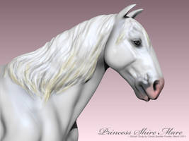 Princess Shire Mare III by CarolaFunder