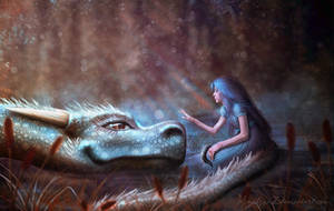 Power over the dragon by Amedeya