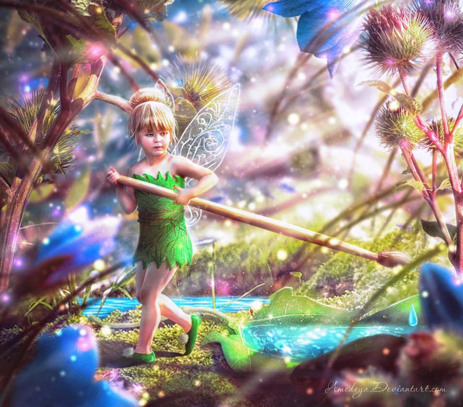 Tinkerbell (Ding-Ding) by Amedeya