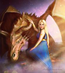Dragon Queen by Amedeya