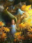 Thumbelina by Amedeya