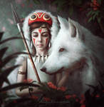 Princess Mononoke.
