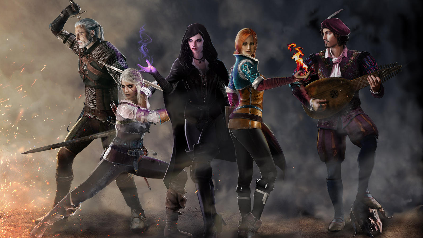Getting the Band Back Together - Witcher 3 by Shinobi2u