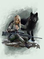 Wolves on the Battlefield - Sniper Wolf by Shinobi2u