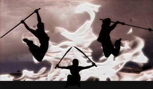 Wushu flame