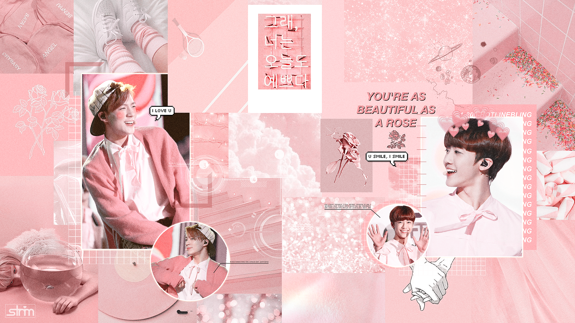 Wallpaper Nomin Nct Pink Aesthetic By Nguyenbeo1999 On Deviantart