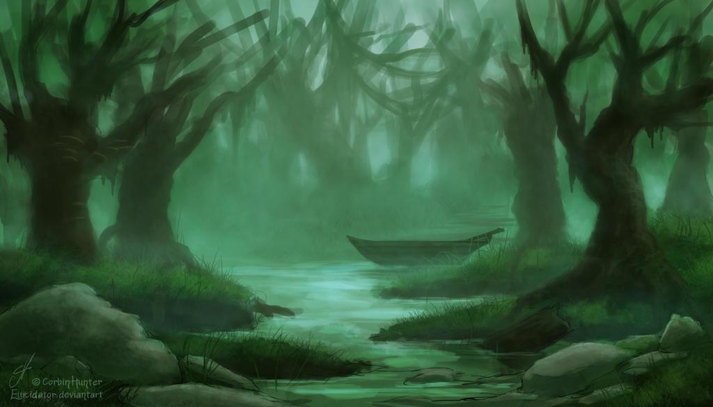 Weekly Environment 01 - Swamp by Elucidator