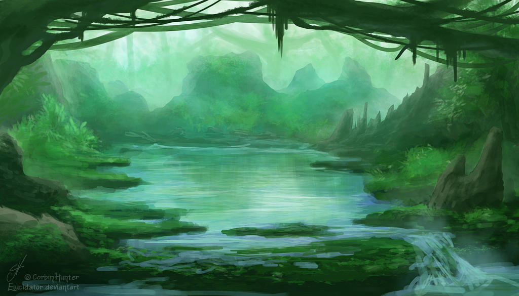 Weekly Environment 03 - Lagoon by Elucidator