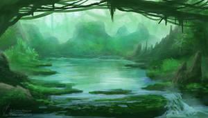 Weekly Environment 03 - Lagoon