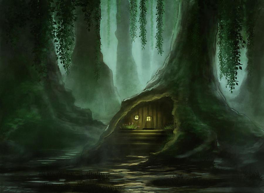 Swamp house revamp by Elucidator