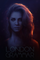 London Grammar - Hannah Reid poster by CorbinHunter