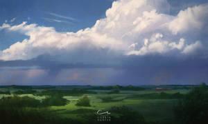 Cloud Warmup1 by CorbinHunter