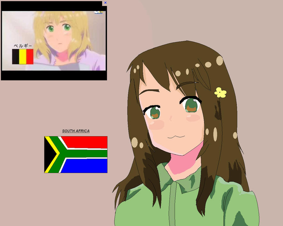 S.A Hetalia style by ask-South-Africa