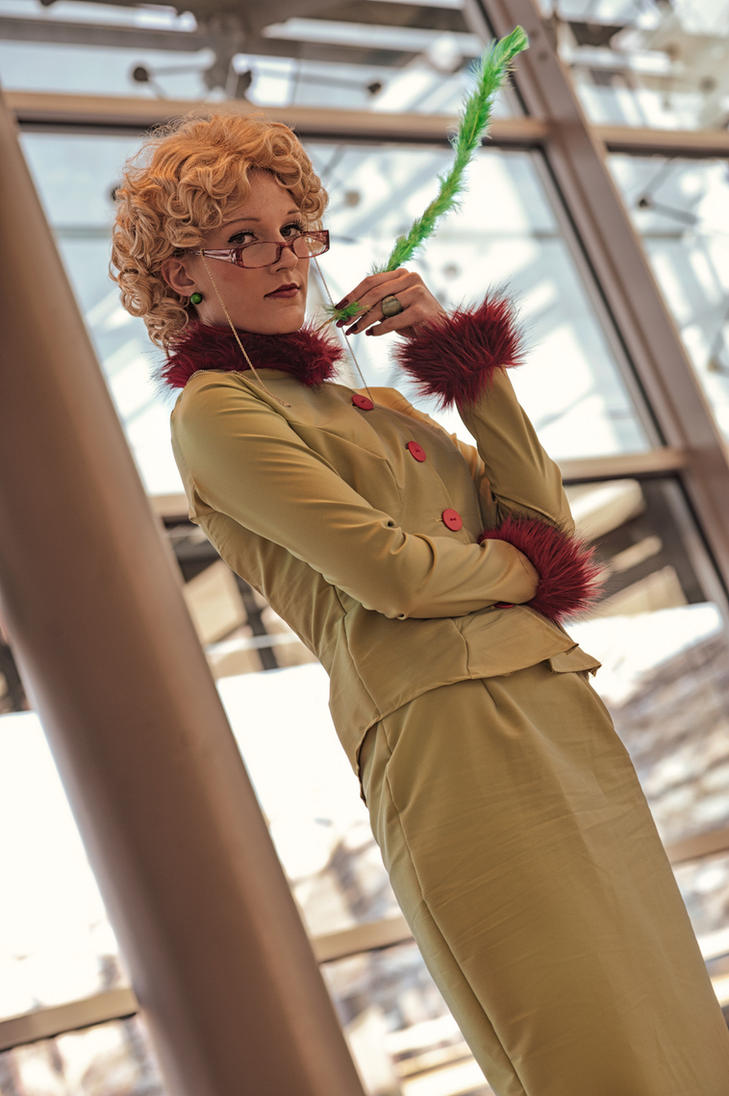 Rita Skeeter - Hello Mr. Potter by MiraiSadame