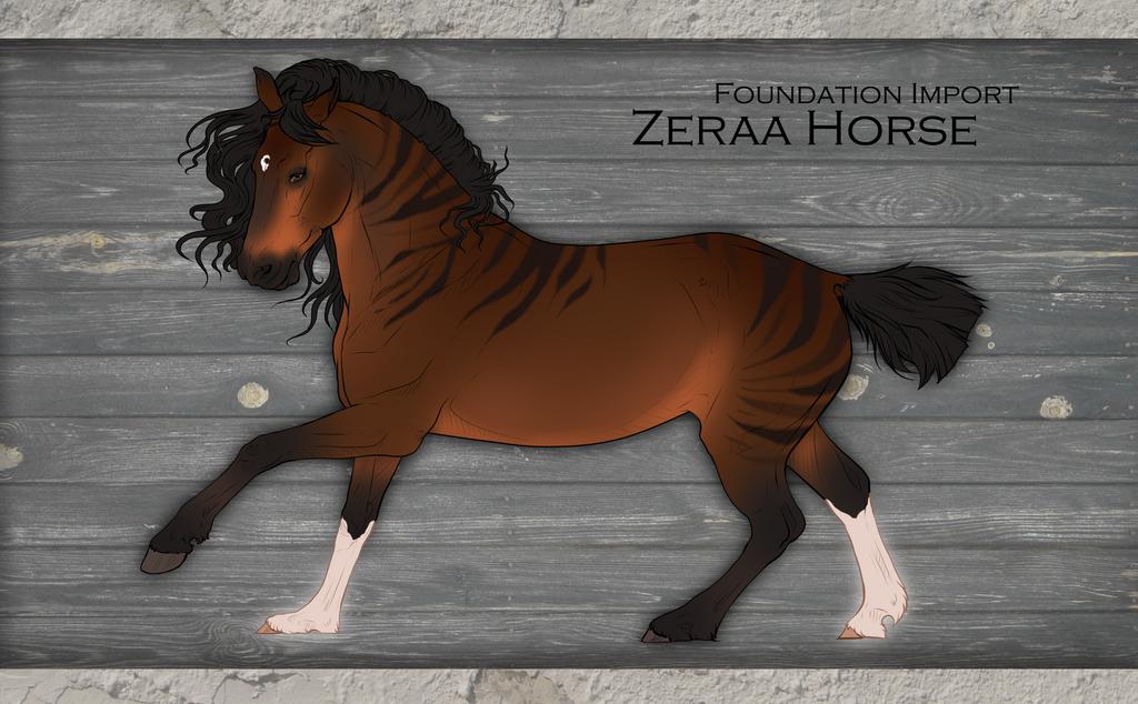 Zeraa import | N#000 by Munaipo