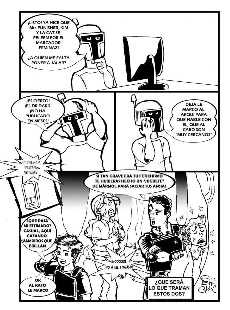 Inktober day 6 A la caza de pacientes by DunadanX
