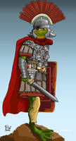 100 Frogs Froximus the Centurion