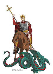 Saint George, Dragon-slayer