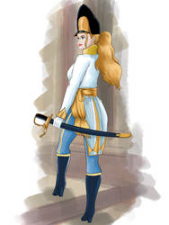 Ofiicer from the Hungarian Grenadiers 1814