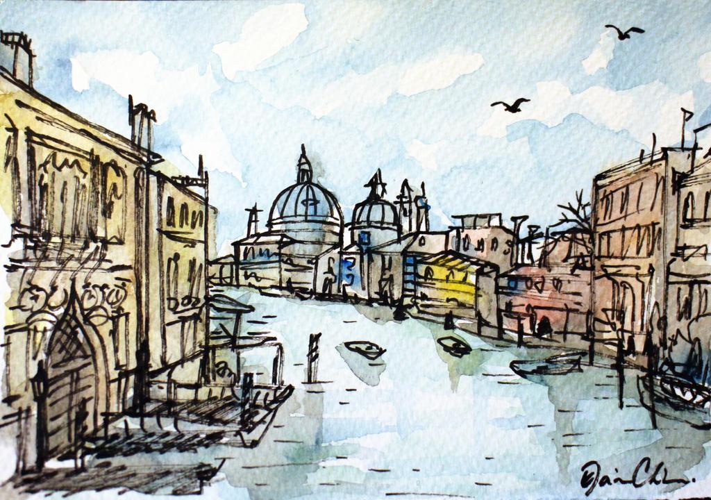 Sketch in Venice by ElaineChiu