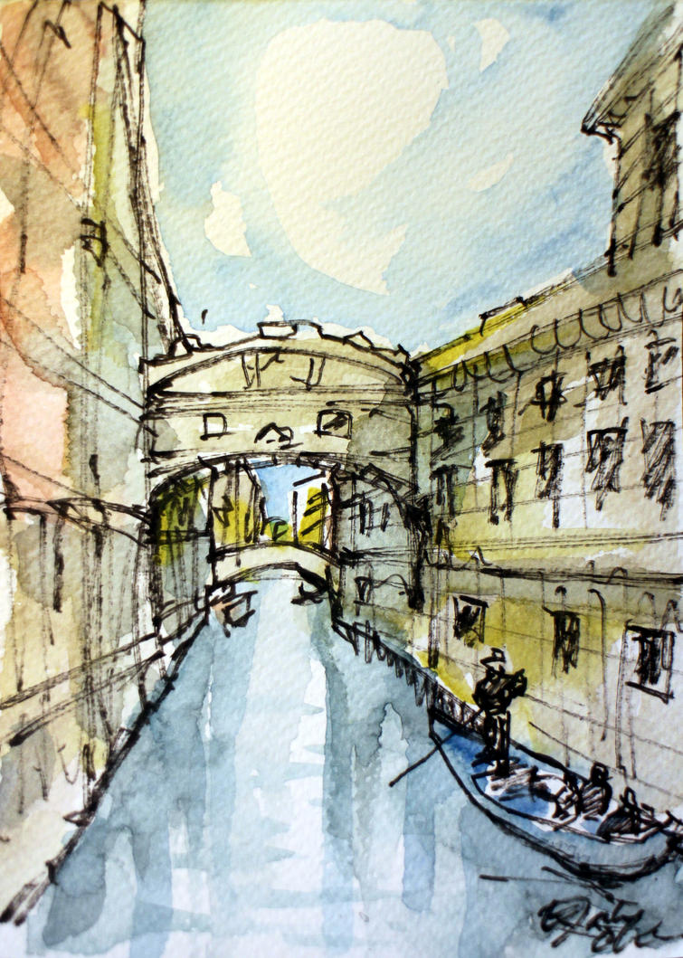 Sketch in Venice 2 by ElaineChiu