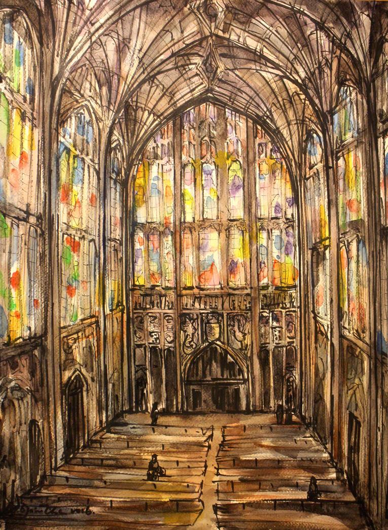 King's College Chapel by ElaineChiu