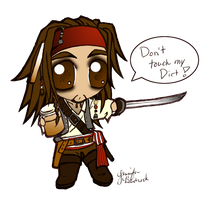 Jack Sparrow by ShebumDevi