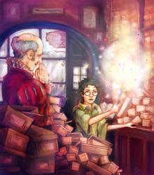 Ollivander's by SaBenerica