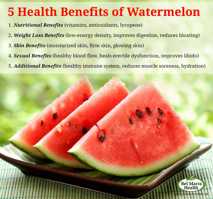 skin benefits of watermelon
