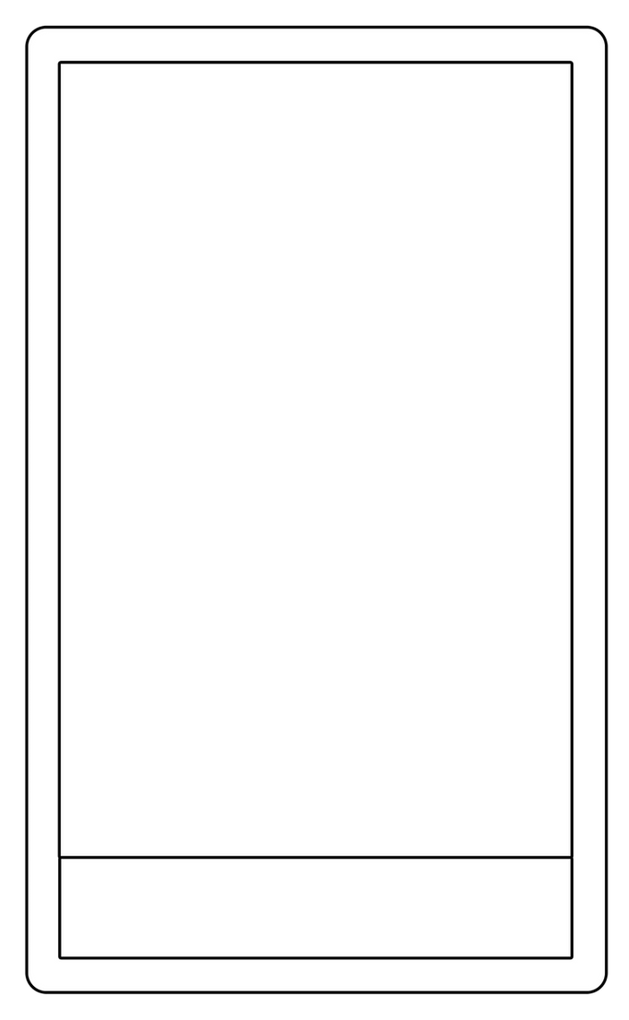 tarot card template by Arianod