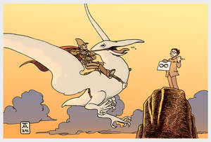 A Tribute to Moebius (full colour)