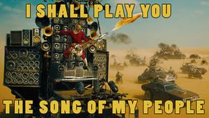 I shall play you