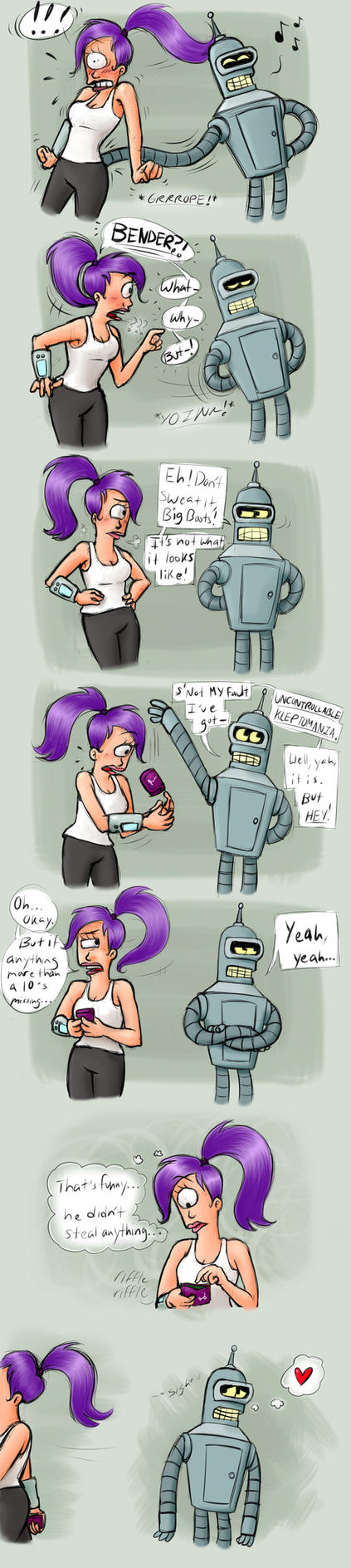 Kleptomania, huh? by MissusPatches