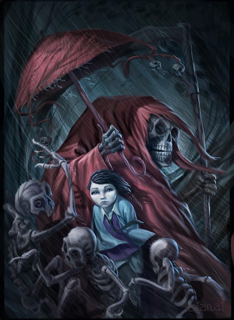 The Dark Umbrella by mechaniac