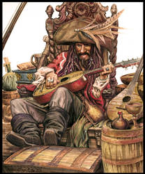 Captain Teague by mechaniac