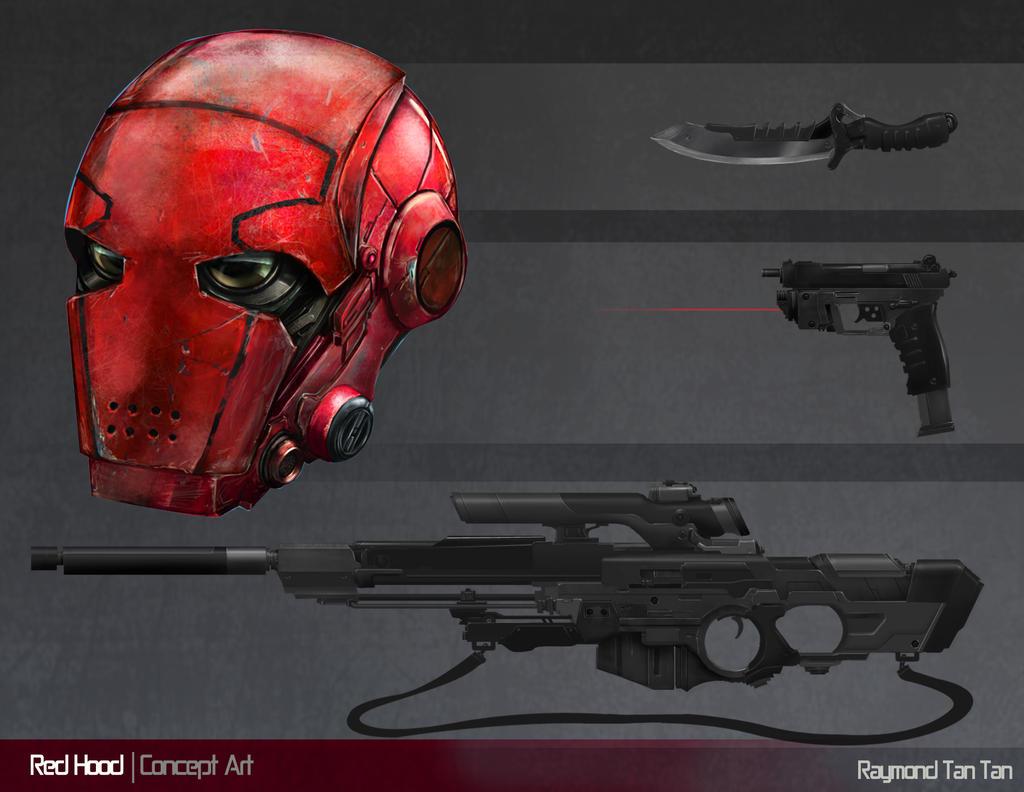 Red Hood Concept Art Asset by Raymondttan on DeviantArt