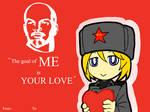Happy 2015's Valentine from Soviet-Chan