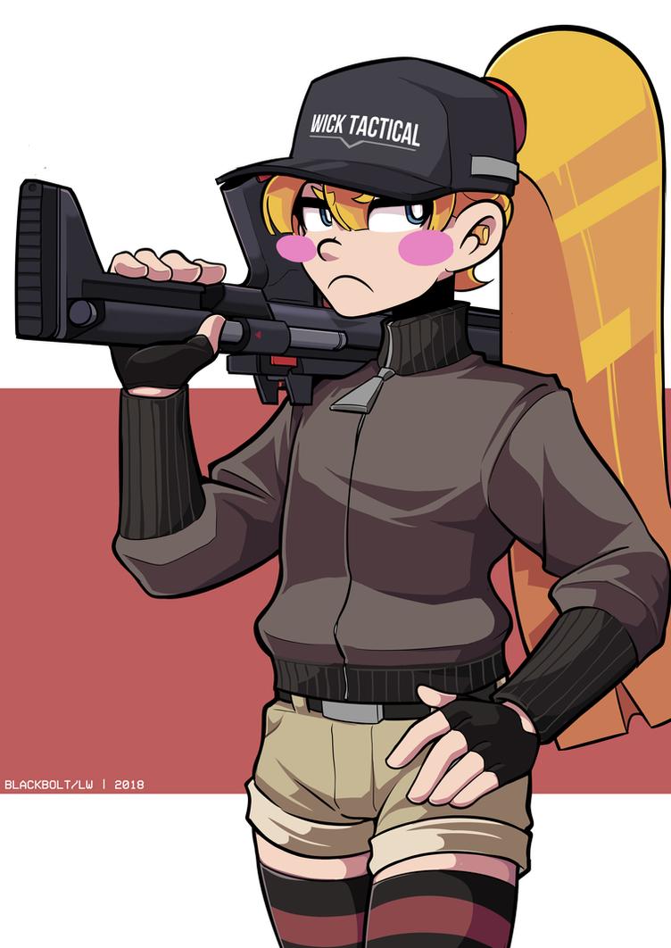 Charlotte's Training Day by BlackboltLonewolf