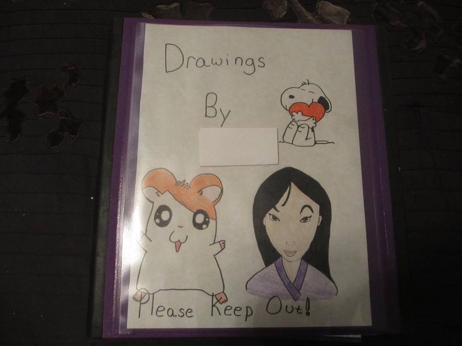 Cool Designs To Draw On Your Binder My Drawing Binder by L...
