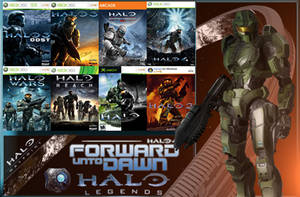 Halo Games (Collection) With The Master Chief