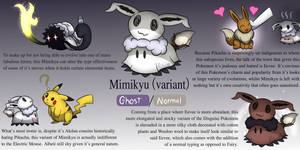 Fakemon Concept: Mimikyu Regional Variant